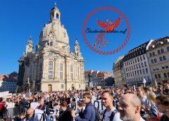 Studenten stehen auf in Dresden